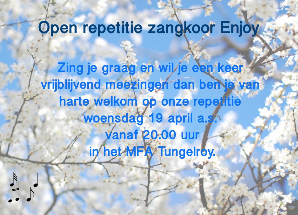 Open repetitie Enjoy
